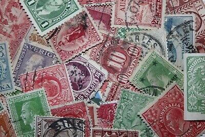 Bulk Lot of World Stamps (315+ stamps)