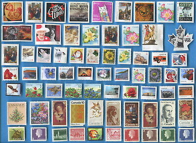 Canada $50 face uncancelled postage stamps mostly 'P' [sta2430]