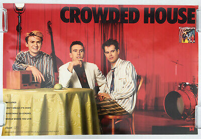 Awe Inspiring Crowded House Artists C Rock Pop Music Memorabilia Home Remodeling Inspirations Cosmcuboardxyz