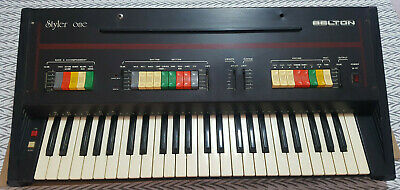 "Belton ""Styler One"" Vintage Electronic Keyboard Analog Synthesizer / Malfunction"
