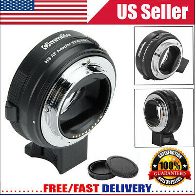 Commlite CM-EF-E HS AF Adapter Ring for Canon EF/EF-S Lens to Sony E Cameras