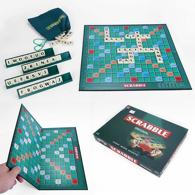 English  Scrabble Board Game Family Kids Adult Educational Toys Puzzle Game