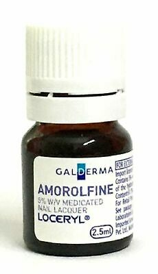 Galderma Amorolfine Loceryl Nail Lacquer 2.5ml Nail Fungus Imported from France