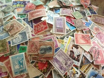 2000+World & British/Colonial Off Paper Mixture Stamps,Some Ex Album, Kiloware)