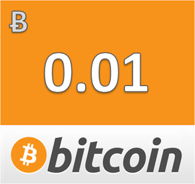 0.01 Bitcoin Btc Mining Contract [Bank Transfer Only]