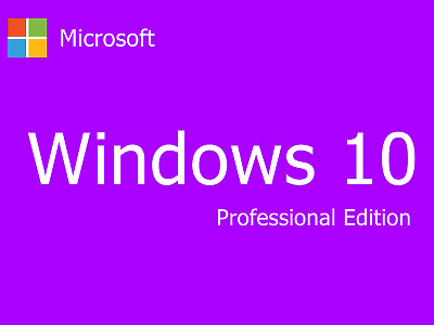Microsoft Windows 10 Pro Professional 32 & 64 Bit Product Key Vollversion Key