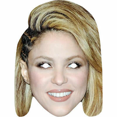Madonna 1980/'s 80s Retro Celebrity Singer Pre-Cut Card Mask Fun For Parties