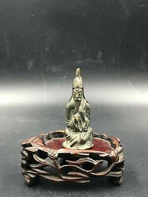 An Aged Bronze Figurine of Taoism