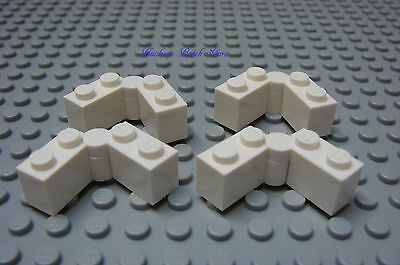 LEGO x 25 Dark Bluish Gray Hinge Brick 1 x 4 Swivel Complete Assembly