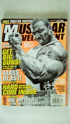 Muscular Development Magazine MD Volume 50 Number 7 July 2013 ACCEPTABLE