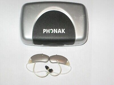 PHONAK Hearing Aids,  left and right, Micro Savia 100dSZ+ 41 batteries