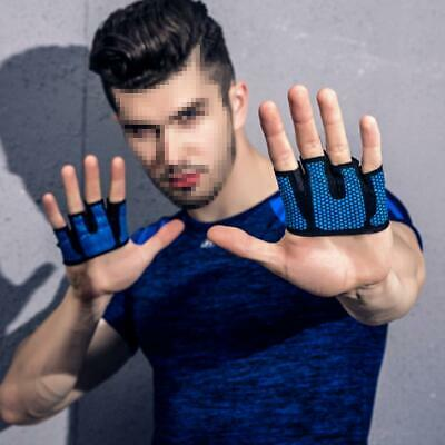 Gym Gloves Weight Lifting Fitness Bodybuilding Strength Training Wrist Leather