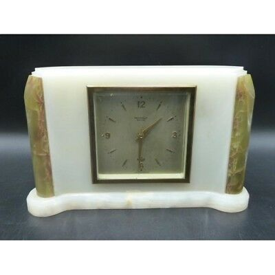 ELLIOTT LONDON ART DECO Onyx Bracket Mantel Clock prestons ltd bolton