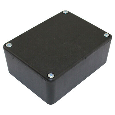 "Black Plastic Project Box with Tabs 2.5/"" x 1.6/"" x 3/"" PT103"