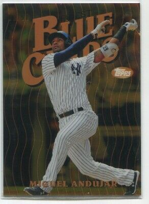 2019 Miguel Andujar Topps Finest BLUE CHIPS GOLD REFRACTOR 1/50 New York Yankees