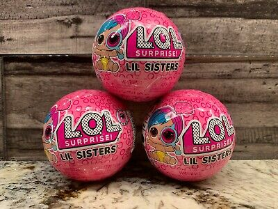 L.O.L. Surprise Eye Spy Lil Sisters Doll Ball Wave 2 Series