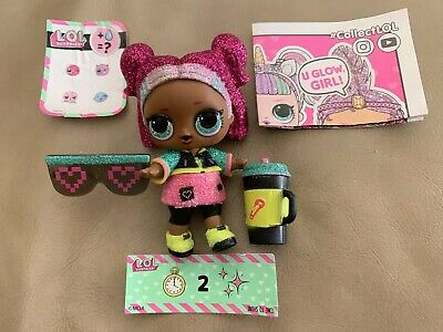 Lol Surprise Doll Sparkle Series V.R.Q.T Authentic!! Opened But Brand New!!