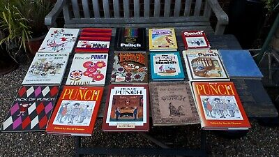 Nice collection of punch cartoon books