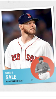 2018 Topps Tbt '63 Set #37 Card Boston Red Sox Chris Sale #221