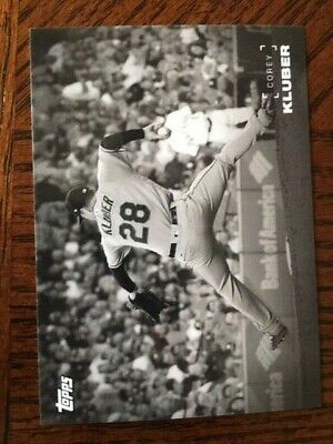 2019 Topps On Demand Black & White Set #1 Card Indians Corey Kluber #53