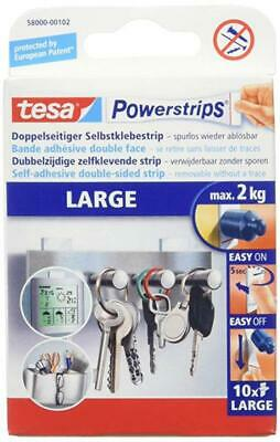 tesa Powerstrips Large Max. 2 kg 10 Strips