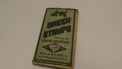 Vintage S&H Green Stamps book - The Sperry and Hutchinson Company - 1956