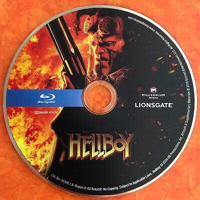 Hellboy 2019 - Newest Release - Blu-ray Disc from 4K set 2019
