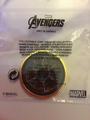 Marvel Avengers Endgame Collectable Coin