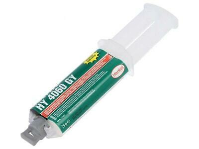LOC-HY4060GY-25 Hybrid glue grey gel syringe with A and B components  LOCTITE