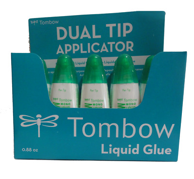 Tombow 52190 MONO Multi Liquid Glue - Display Box of 10 bottles