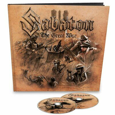 SABATON - The Great War - 2-CD, Earbook, Limited Neu New
