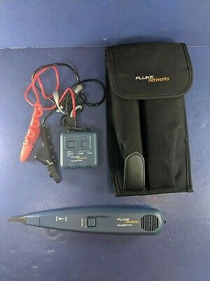 Fluke Pro3000 Probe and Toner, Soft Case, Excellent