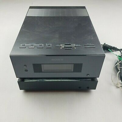 Sony CMT-BX1 Micro Hi-Fi Component System with MP3 Playback TESTED & WORKING
