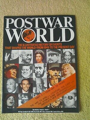 POSTWAR WORLD No.1-FROM 1945 TO 1975. 1975 ISSUE