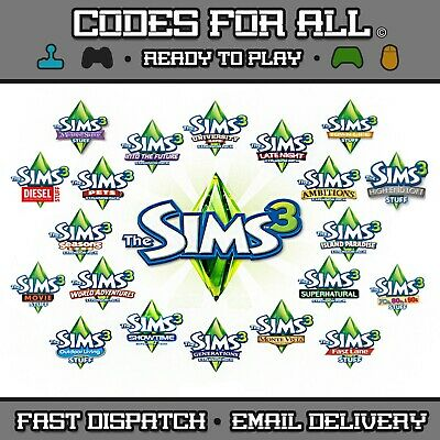 The Sims 3 Base Game & Expansion Packs Origin PC / Mac - FAST DISPATCH