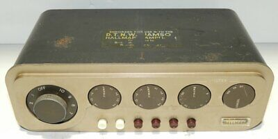 DTN Williamson Hallmark Tube Valve Preamplifier All Original