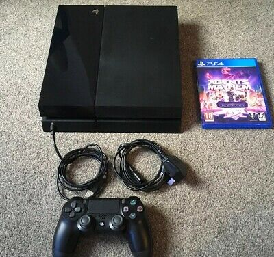 Sony Ps4  Slim Playstation console 500gb & Game VGC