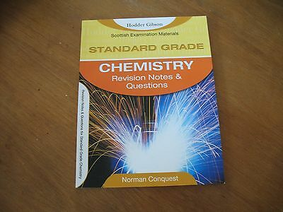 Hodder Gibson Standard Grade Chemistry revision notes and questions