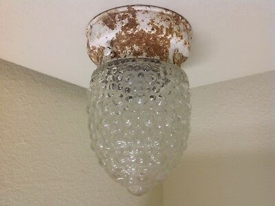 Vintage ~ Mid Century ~ Modern ~ Porch / Hallway / Kitchen Light Fixture Sconce