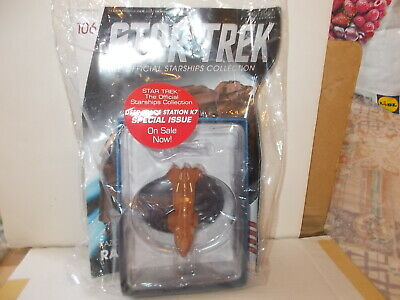 Eaglemoss Star Trek Official Starships Collection,106 Kazon Raider, New