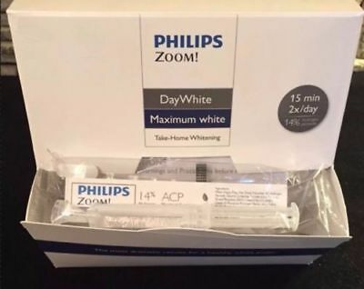 Philips Zoom DayWhite14% Syringe- Fast UK Delivery -1 gel syringe