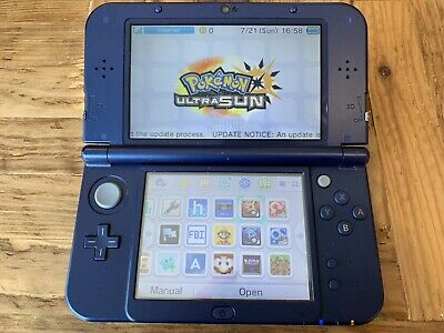 NINTENDO 3DS XL Zelda Edition modded with CFW 1000's of games