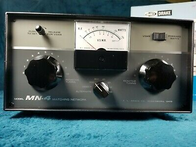 VIKING MB-IV-A 3 Kw High Power Roller Inductor Antenna Tuner