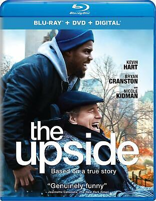 On Sale!-The Upside (Blu-ray+DVD+UV, 2019) New Release