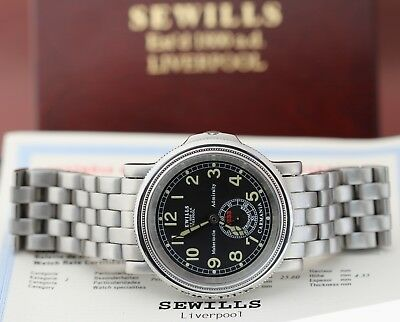 """SEWILLS """"Carmania"""" Officially Certified Chronometer Automatic Near-NOS B&P!"""