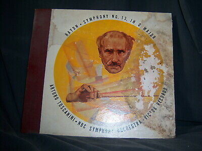 Victor RS DM-454 Arturo Toscanini, NBC Orch - Haydn, Symphony No. 13, In G Major