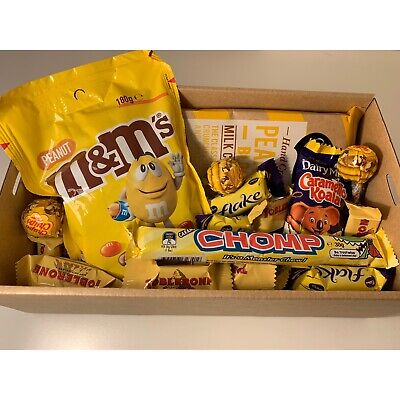 Yellow Chocolate Lolly Gift Hamper New