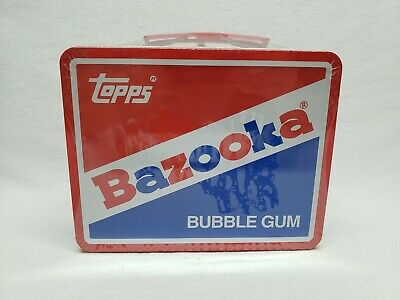 TOPPS Retro BAZOOKA BUBBLE GUM Tin Lithograph LUNCHBOX Classic Vintage NEW!