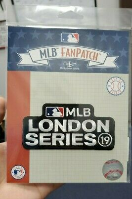 2019 MLB London Series Baseball Jersey Patch New York Yankees Boston Red Sox