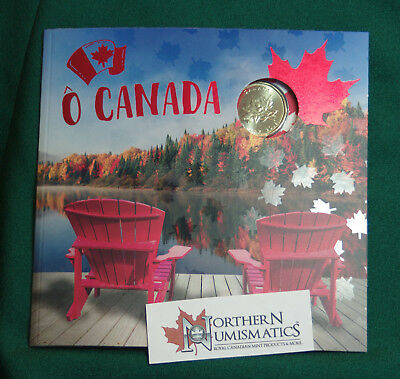 2018 Canada Uncirculated Oh Canada 5 coin gift set with special loon dollar coin